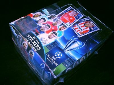 Topps CHAMPIONS LEAGUE Sticker 15/16 2015/2016-1 Display/Box Sammelsticker Tüten