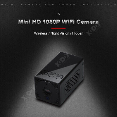 1080P Mini IP Camera Wireless WiFi HD Security Night Vision TF Card Onvif 2MP