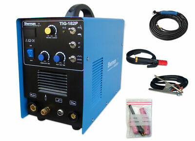 Sherman TIG 182P DC AC 230 50Hz TIG DC, MMA welding inverter 2T/4T Pre Post Flow