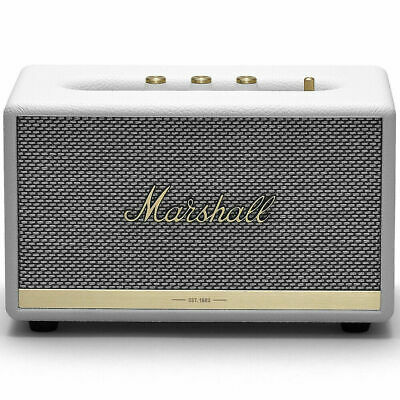 Marshall Acton II 50W Wireless Bluetooth Home Speaker - White
