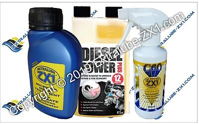 Extralube ZX1 Super SAVER Bundle 6 - 250ml ZX1, 300ml C60, 473ml DPP