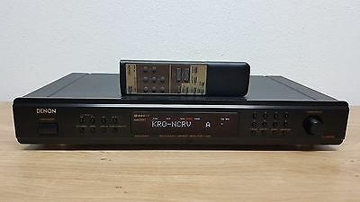Denon TU-1500RD - TU 1500RD Black High-End AM/FM Tuner R.D.S.