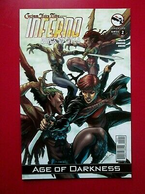 NM Grimm Fairy Tales QUEST #3A LAISO variant Zenescope 2014 Age of Darkness