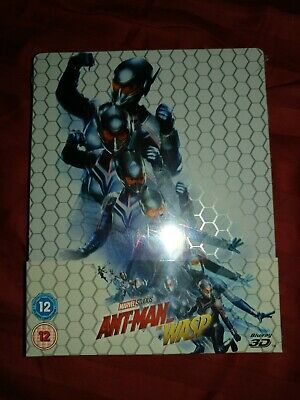 Ant Man & The Wasp 3D [2018]i (Blu-ray 3D + 2D Region-Free)~~~STEELBOOK~~~NEW