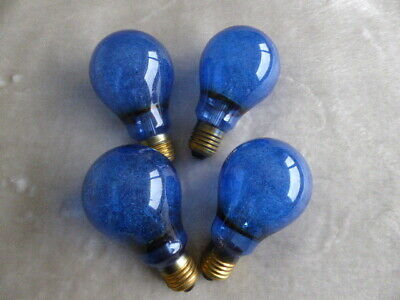 4 x Phillips PF100 Blue large flash bulbs for MPP, Speed Graphic etc