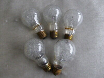 5 x Phillips PF60 Clear large flashbulbs for MPP , Speed Graphic, Bowens etc