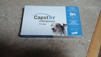 CAPSTAR 6 Tablets Dogs & Cats Oral Flea Treatment 2-25 lbs FREE SHIPPING