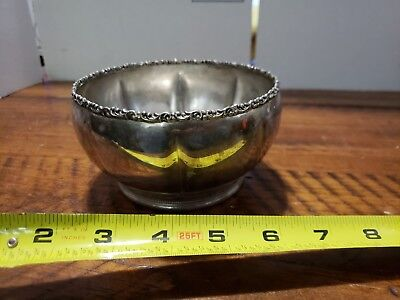 Forbes Silver Co. Silver Quadruple Teapot #662 Bowl