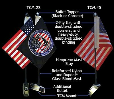 Rumbling Pride Tcm Motorcycle Flag Mount System Made In Usa