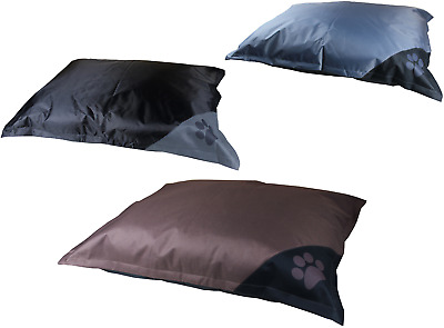 Large WaterProof Paw Pet Dog Bed Washable Zipped Cover Floor Anti Slip Mattress