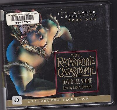 The Ratastrophe Catastrophe by David Lee Stone (2004, CD, Unabridged) Ages 10-14