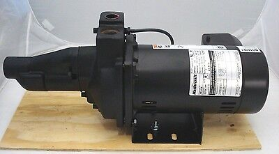 Mastercraft 3/4hp Cast Iron Convertible Jet Pump 561472 Shallow Deep Well 2