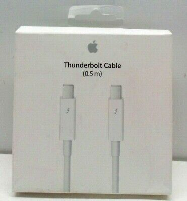 Genuine Apple Thunderbolt Cable 0.5m MD862LL//A Model A1410 NEW OEM