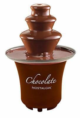Cascade Chocolate Fondue Fountain 3-Tier, Chocolates- Liqueurs-Cheeses 1/2 Pound