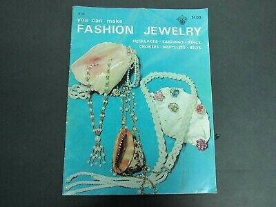 1971 You Can Make Fashion Jewelry - Craft Course Publishers, Paperback