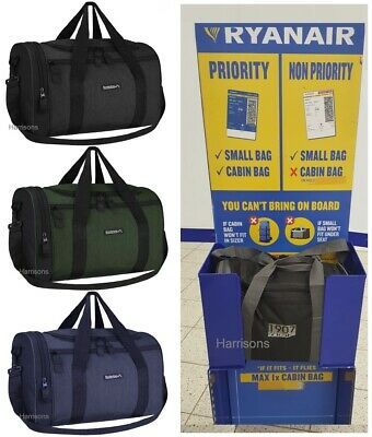 Ryanair Small Bag Carry On Flight Cabin Hand Luggage 40x25x20cm Fits Under Seat
