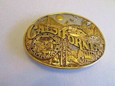 New Vintage California Belt Buckle Award Design Medals