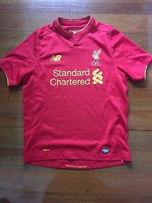 30e98e1cc New Balance Kids Junior LFC Jr Home SS Jersey Liverpool Football Soccer team