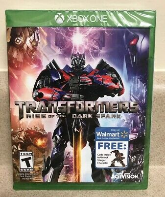 New TRANSFORMERS RISE OF THE DARK SPARK XBOX ONE Walmart Edition