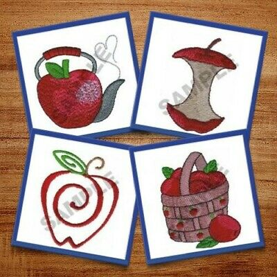 Apples I - 20 Machine Embroidery Designs