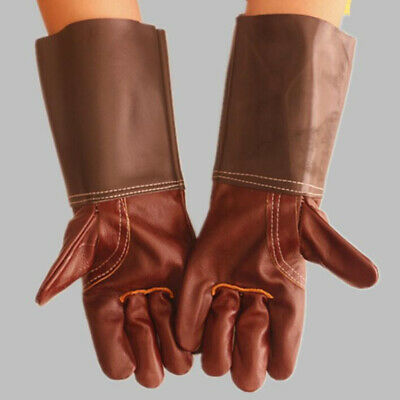 Welding Gloves for Welders 35cm Protective Gloves Heat Resistant Leather