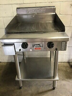 COMMERCIAL RESTAURANT Cafe Goldstein GPGDB-24 Hotplate 600mm grill & stand LPG