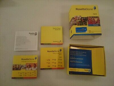 ROSETTA STONE HINDI Level 3 Audio CDs Version 3 2008 PC and