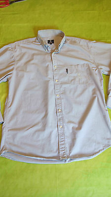 Rare 2 Chemises D'occasion Used Shirt Peugeot Sport Taille L Size