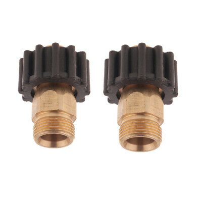 2PCS Male-Female Pipe Socket Adapter Fitting Wands Spray Nozzle Pump A2 A3