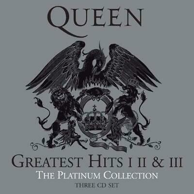 Queen Greatest Hits I, II III - Platinum Collection 3 CD Box Set NEW