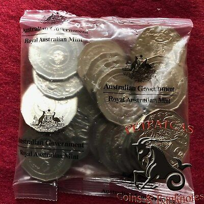 2016 50c Changeover Uncirculated Royal Australia Mint Sealed Bag