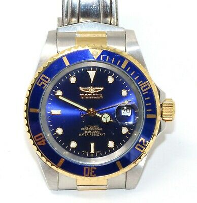 Invicta Men's Pro Diver Gold Tone Stainless Steel Bracelet Automatic 8928OB NEW!