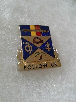 AUTHENTIC US ARMY 293rd Engineer Battalion Unit DI DUI Crest