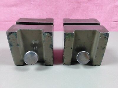 "Eastman Kodak 3"" Riser Blocks for Optical Comparators Comparator 1/2"" Slot Mount"