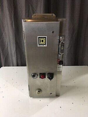 Square D  7 Amp Combination Motor Controller w Disconnect Switch SS