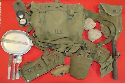 Lot of Original WW2 US Field Gear—Untouched for Decades!