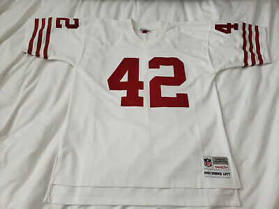 quality design 61122 7238d RONNIE LOTT MITCHELL & Ness Throwback Jersey San Francisco ...