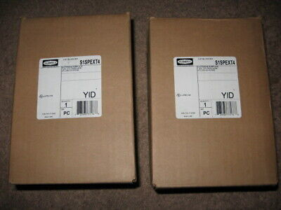 """ Lot of 2 "" New Hubbell System One Subplates Extron2 AAP 20A 125V  S1SPEXT4"