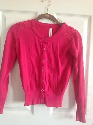 8cfc5af68c7 CHEROKEE L G 10-12 girls sweater EUC color pink -  4.99