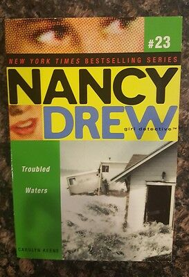 Troubled Waters, Nancy Drew Girl Detective #23: By Carolyn Keene, PB,  English