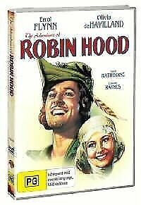The Adventures of Robin Hood (DVD, 2009) Region 4 Brand NEW with Free Postage