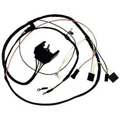 Camaro Engine Wiring Harness All V8 For Cars With Gauges