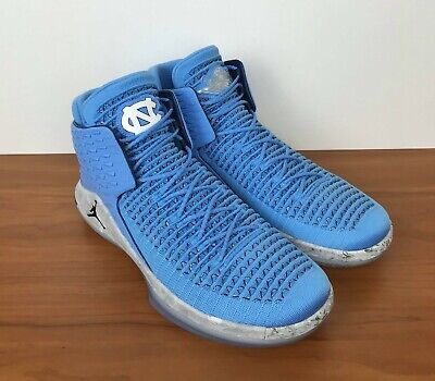 c13fdfeb7eeaa4 Nike Air Jordan XXXII 32 UNC North Carolina Tar Heels AA1253-406 Men s Size  12.5