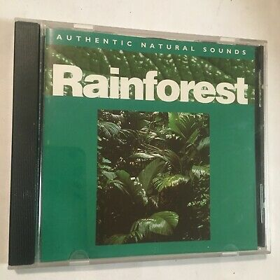 Rainforest - Relax With Nature - Authentic Natural Sounds  - Cd - Vgc