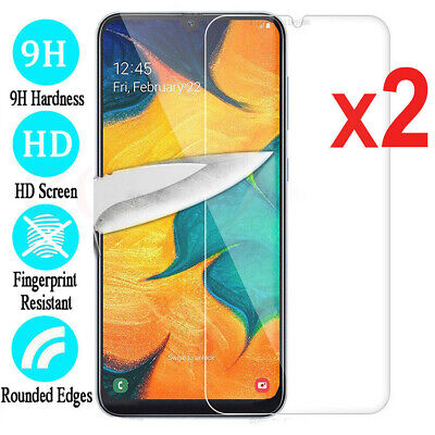 2x Tempered Glass Screen Protector Film For Samsung Galaxy A70 A50 40 M30 M20 10
