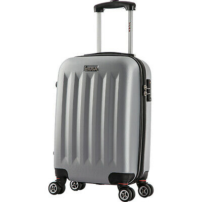 """inUSA Luggage Philadelphia Collection 19""""  Carry-on Hardside Carry-On NEW"""