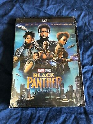 Black Panther DVD 2018 Marvel New Movies Sealed Free Shipping Fast Available