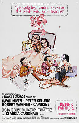 The Pink Panther:Movie Poster:Laminated:A4:!!!!Buy 2 Get 3 FREE!!