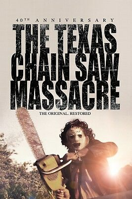 The Texas Chainsaw Massacre:Movie Poster#4:Laminated:A4:!!!!Buy 2 Get 3 FREE!!!!
