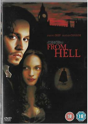 From Hell (DVD, 2003)  Region 2